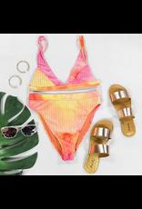 Swimsuits Revibe Tie Dye Hi Waist Bikini Bottom