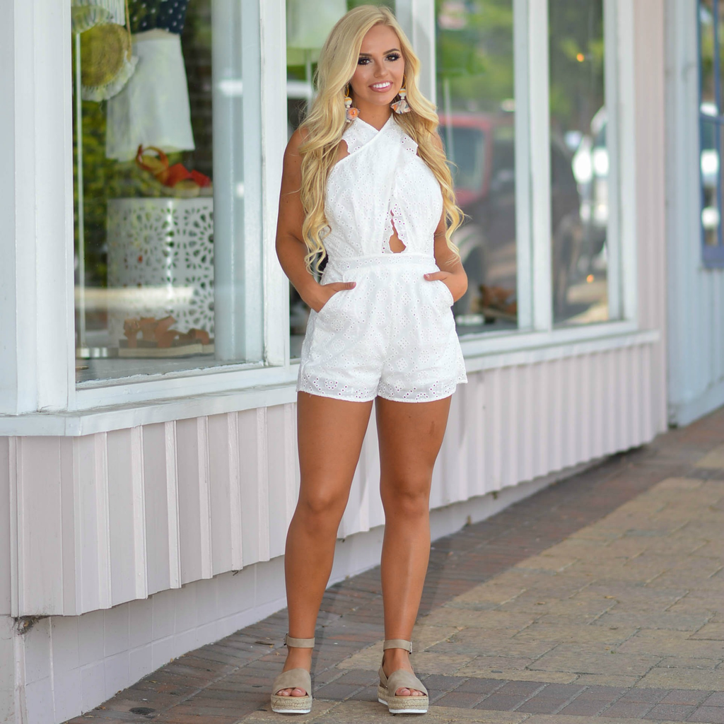Rompers 48 Summer In Eyelet Lace Romper