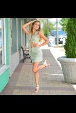 Skirts 62 Scallop Summer Sage Skirt
