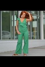 Jumpsuit Emerald City Ruffle Jumpsuit
