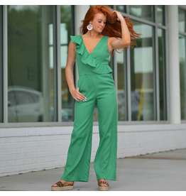 Jumpsuit Emerald City Ruffle Jumpsuit