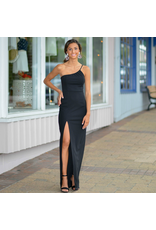 Dresses 22 A Formal Encounter One Shoulder Long Black Dress