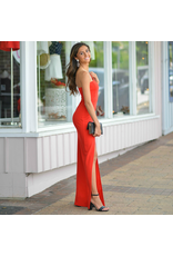 Dresses 22 A Formal Encounter One Shoulder Long Red Dress