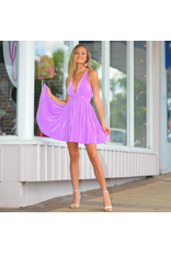 Dresses 22 Dream And Gleam Purple Pleated Formal Dress