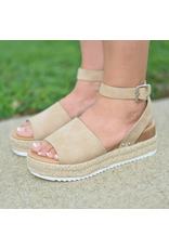 Shoes 54 Hot Topic Summer Taupe Espadrilles