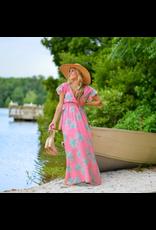 Dresses 22 Trip To The Tropics Pink Maxi Dress