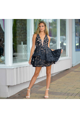 Dresses 22 Summer Romance And Lace Black/Nude Dress
