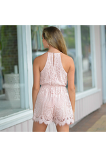 Rompers 48 So Lovely In Lace Blush Romper