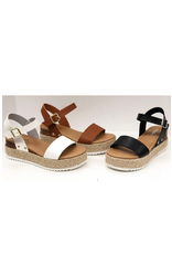 Shoes 54 Summer Fun Black Espadrilles