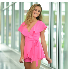Rompers 48 Wrap It Up Pink Romper