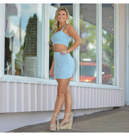 Skirts 62 Carolina Girl Light Blue Skirt