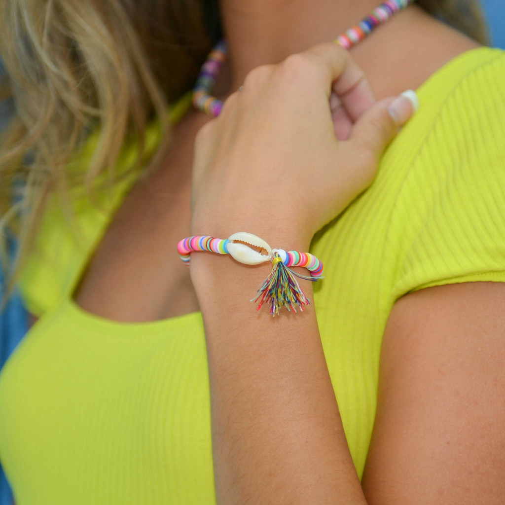 Jewelry 34 Colorful and Fun Shell Bracelet
