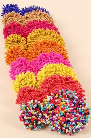 Jewelry 34 Colorful Beaded Earrings