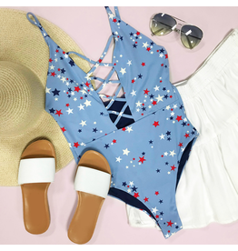 Swimsuits Star Celebration One Piece Swim
