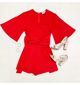 Rompers 48 Celebration Red Romper