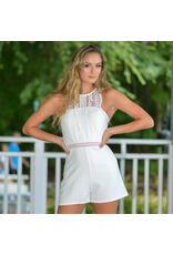 Rompers 48 Lace Party Little White Romper
