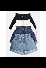 Shorts 58 Summer Love High Waisted Paperbag Shorts