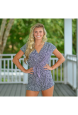 Rompers 48 Spotted Black And White Romper