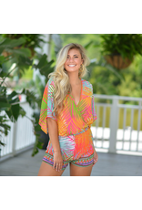 Rompers 48 Tropical Punch Summer Romper