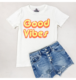 Tops 66 Good Vibes Tee