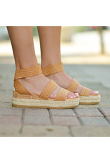 Shoes 54 Happy Strides Natural Straw Texture Espadrilles