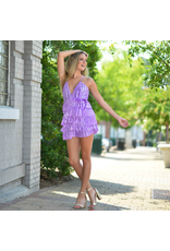 Dresses 22 Shake It Up Lilac Ruffle Dress
