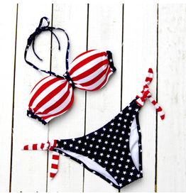 Swimsuits Stars & Stripes Bikini Top