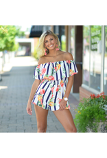 Rompers 48 Florals Forever Summer Ruffle Romper