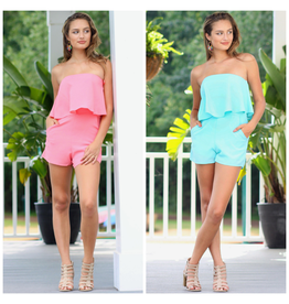 Rompers 48 Fun Summer Pocket Romper