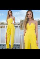 Jumpsuit Hello Sunshine Yellow Jumpsuit
