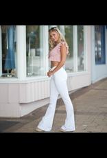 Pants 46 White Flare Denim