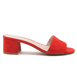 Shoes 54 Step Out Red Mule Sandal