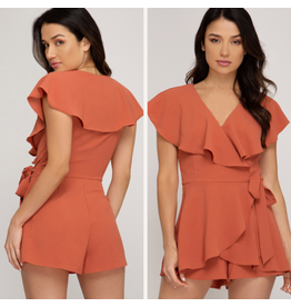 Rompers 48 Fall Feeling Pumpkin Romper