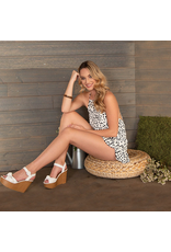 Rompers 48 Spotted In Ruffles White Romper