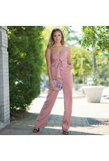 Jumpsuit Change Of Season Satin Copper Jumpsuit