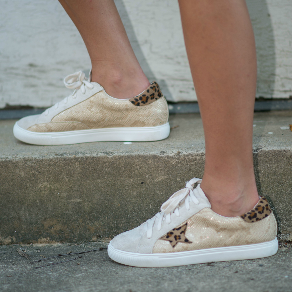 Shoes 54 You're A Star Snake/Leopard Sneakers