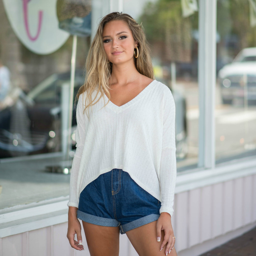Tops 66 Cute And Comfy Ivory Top
