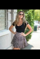 Tops 66 All Tied Up Black Summer Bodysuit