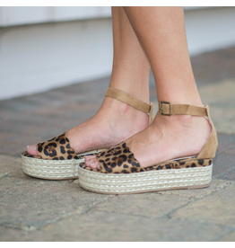 Shoes 54 Lonnie Leopard Espadrilles