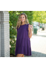 Dresses 22 Ruffle Up Baby Doll Purple Dress