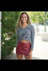 Tops 66 Love Me Lots Leopard Sweater