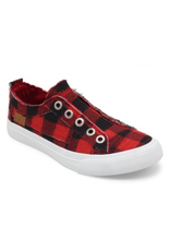 Shoes 54 Check Em Out Red/Black Sneakers