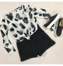 Tops 66 Leopard Tunic Top