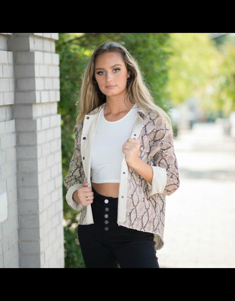 Outerwear Snake Jacket