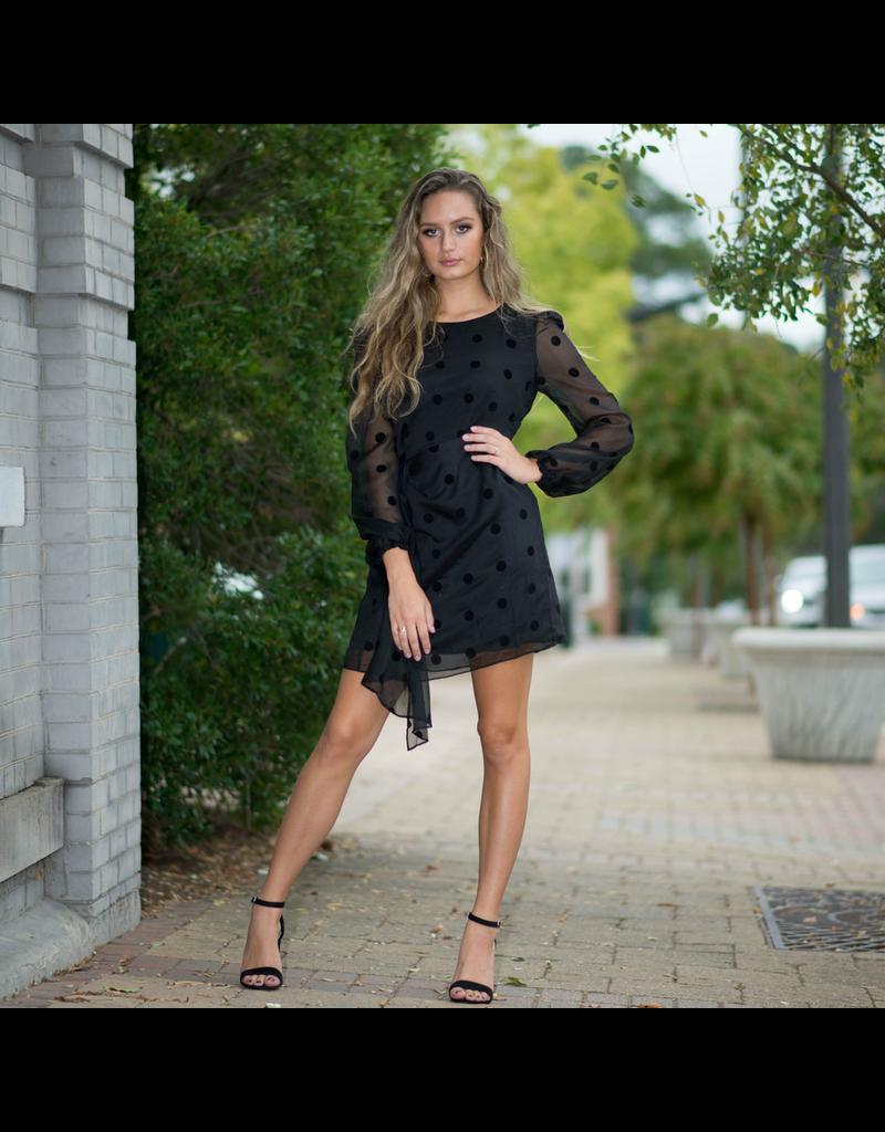 Dresses 22 Lotty So Dotty Black Dress
