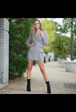Dresses 22 Plaid Belted Coat Dress