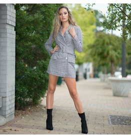 Dresses 22 Plaid Belted Coat Dress