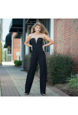 Jumpsuit Cultivate Your Confidence Black/Glitter Formal Jumpsuit