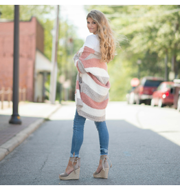 Tops 66 Fall For It Soft Stripe Cardigan
