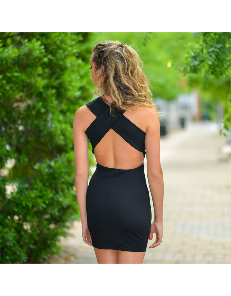 Dresses 22 Simple Elegance Strappy Back LBD